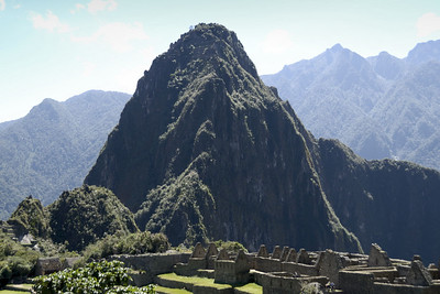 Machu Picchu, looking at Huayna Picchu